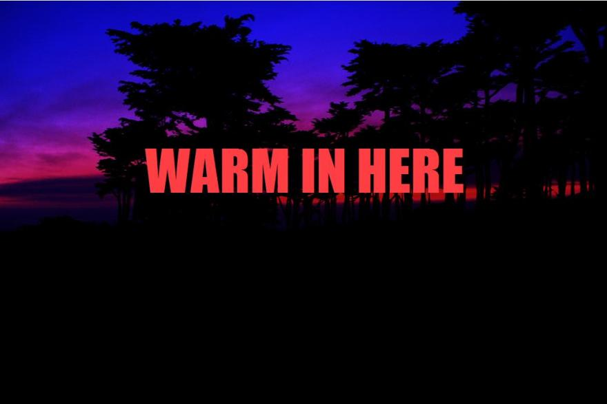 Warm In Here Cover Art